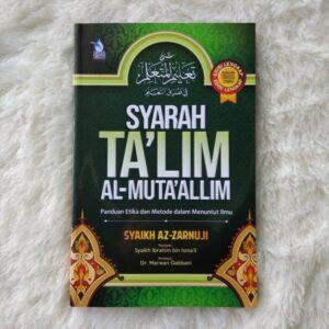 Jual Buku Syarah Ta'lim Muta'allim